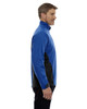 Nautical Blue-side 88656 North End Sport Red Laminated Performance Stretch Wind Shirt