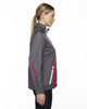 Black/Silk-side 78644 North End Sport Red Impact Active Lite Colourblock Jacket