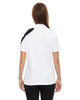 White - Back, 78645 North End Sport Red Impact Performance Polyester Colourblock Polo Shirt