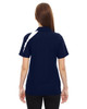 Night - Back, 78645 North End Sport Red Impact Performance Polyester Colourblock Polo Shirt