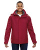 Molten Red - 88130 North End Men's 3-In-1 Jacket   Blankclothing.ca