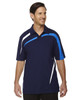Night - 88645 North End Sport Red Impact Performance Polyester Colourblock Polo Shirt