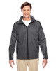 Sport Graphite - TT72 Team 365 Conquest Jacket with Fleece Lining | BlankClothing.ca