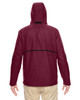 Sport Maroon - Back, TT72 Team 365 Conquest Jacket with Fleece Lining | BlankClothing.ca