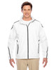 White - TT72 Team 365 Conquest Jacket with Fleece Lining | BlankClothing.ca