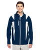 Sport Dark Navy/Sport Silver - TT82 Team 365 Icon Colourblock Soft Shell Jacket | BlankClothing.ca