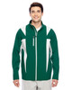 Sport Forest/Sport Silver - TT82 Team 365 Icon Colourblock Soft Shell Jacket | BlankClothing.ca