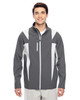 Sport Graphite/Sport Silver - TT82 Team 365 Icon Colourblock Soft Shell Jacket | BlankClothing.ca