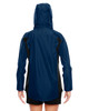 Sport Dark Navy - Back, TT86W Team 365 Dominator Waterproof Jacket