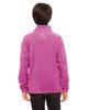 Sport Charity Pink - Back, TT90Y Team 365 Youth Campus Microfleece Jacket