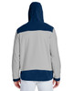 Sport Dark Navy/Sport Silver-back TT94 Team 365 Rally Colourblock Microfleece Jacket
