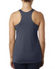 Indigo-back 6733 Next Level Tri-Blend Racerback Tank Top | Blankclothing.ca