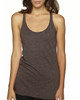 Macchiato - 6733 Next Level Tri-Blend Racerback Tank Top | Blankclothing.ca