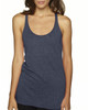 Indigo - 6733 Next Level Tri-Blend Racerback Tank Top | Blankclothing.ca