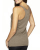 Venetian Grey-back 6733 Next Level Tri-Blend Racerback Tank Top | Blankclothing.ca