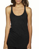 Vintage Black - 6733 Next Level Tri-Blend Racerback Tank Top | Blankclothing.ca