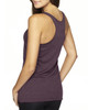 Vintage Purple-back 6733 Next Level Tri-Blend Racerback Tank Top | Blankclothing.ca