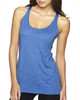 Vintage Royal - 6733 Next Level Tri-Blend Racerback Tank Top | Blankclothing.ca