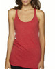 Vintage Red - 6733 Next Level Tri-Blend Racerback Tank Top | Blankclothing.ca