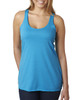 Vintage Turq - 6733 Next Level Tri-Blend Racerback Tank Top | Blankclothing.ca