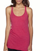 Vintage Sh Pink  - 6733 Next Level Tri-Blend Racerback Tank Top | Blankclothing.ca