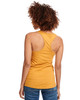 Antique Gold - Back, N1533 Next Level Ideal Racerback Tank Top | Blankclothing.ca