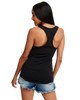 Black - Back,N1533 Next Level Ideal Racerback Tank Top | Blankclothing.ca