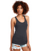 Dark Grey - N1533 Next Level Ideal Racerback Tank Top | Blankclothing.ca