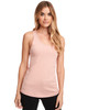 Desert Pink - N1533 Next Level Ideal Racerback Tank Top | Blankclothing.ca