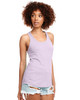 Lilac - N1533 Next Level Ideal Racerback Tank Top | Blankclothing.ca