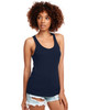 Midnight Navy - N1533 Next Level Ideal Racerback Tank Top | Blankclothing.ca