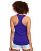 Purple - Back, N1533 Next Level Ideal Racerback Tank Top | Blankclothing.ca
