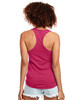 Raspberry - Back, N1533 Next Level Ideal Racerback Tank Top | Blankclothing.ca