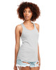 Silver - N1533 Next Level Ideal Racerback Tank Top | Blankclothing.ca