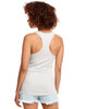 Silver - Back, N1533 Next Level Ideal Racerback Tank Top | Blankclothing.ca