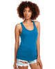 Turquoise - N1533 Next Level Ideal Racerback Tank Top | Blankclothing.ca
