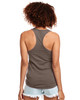 Warm Grey - Back, N1533 Next Level Ideal Racerback Tank Top | Blankclothing.ca