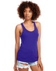Purple Rush - N1533 Next Level Ideal Racerback Tank Top | Blankclothing.ca