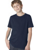 Midnight Navy 3310 Next Level Boys' Premium Crew Tee | Blankclothing.ca