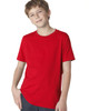 Red 3310 Next Level Boys' Premium Crew Tee | Blankclothing.ca