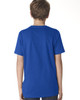 Royal, back 3310 Next Level Boys' Premium Short-Sleeve Crew Tee