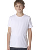 White 3310 Next Level Boys' Premium Crew Tee | Blankclothing.ca