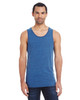 Royal Black Triblend - 102C Threadfast Unisex Triblend Tank Top | BlankClothing.ca