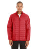 Classic Red - CE700 Ash City - Core 365 Men's Prevail Packable Puffer Jacket | Blankclothing.ca