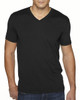 Black -6440 Next Level Men's Premium Fitted Sueded V-Neck Tee | Blankclothing.ca
