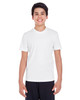 White - TT11Y Team 365 Youth Zone Performance Tee   BlankClothing.ca