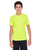 Safety Yellow - TT11Y Team 365 Youth Zone Performance Tee   BlankClothing.ca