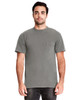 Lead - 7415 Next Level Adult Inspired Dye Crew T-Shirt with Pocket | Blankclothing.ca