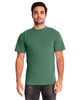 Clover - 7415 Next Level Adult Inspired Dye Crew T-Shirt with Pocket | Blankclothing.ca