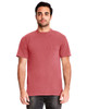Smoked Paprika - 7415 Next Level Adult Inspired Dye Crew T-Shirt with Pocket | Blankclothing.ca